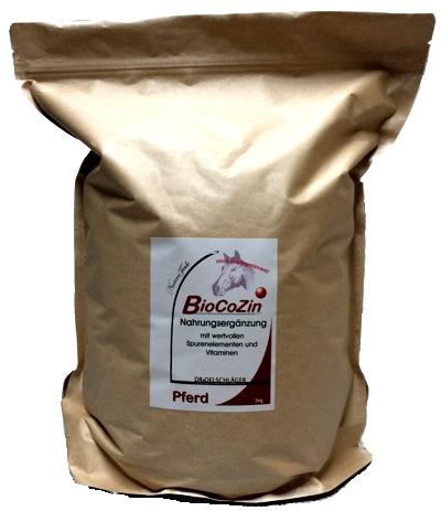 BioCoZin Nahrungsergänzung, Futter
